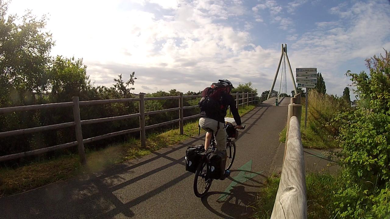 Le vélocéan entre Guérande et Pornichet