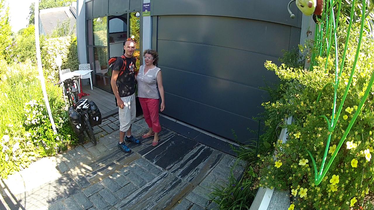 Annick a créé le site d'un gîte (à Nantes)