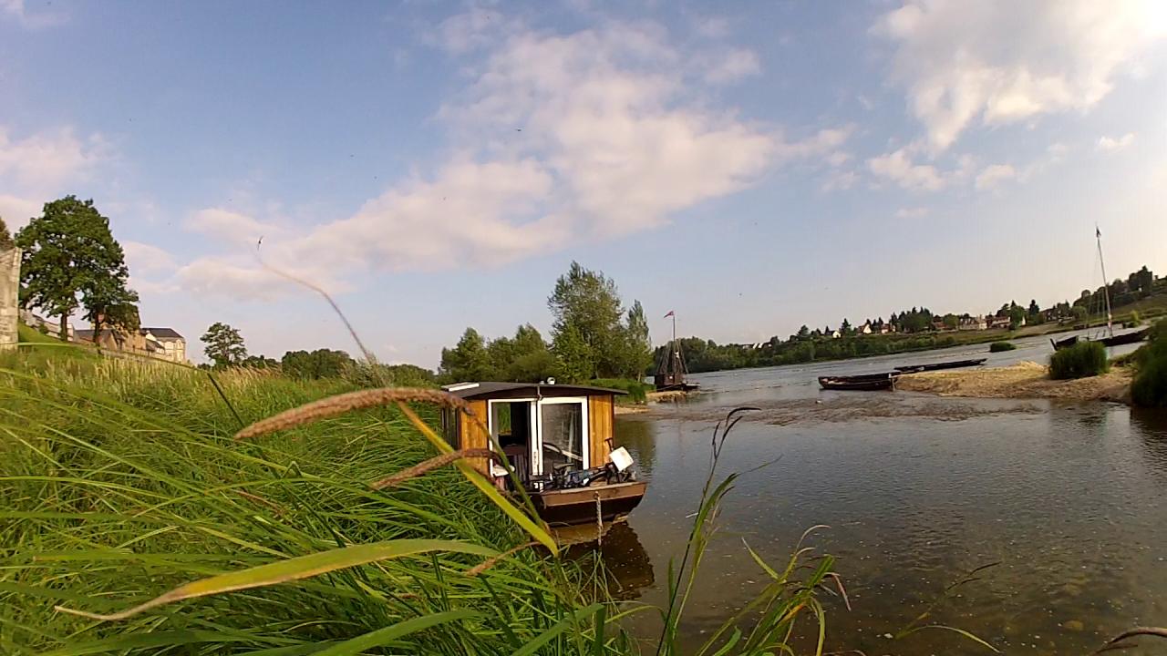 Hébergement insolite sur la Loire