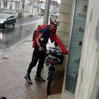 L'arivée (humide) à St-Just
