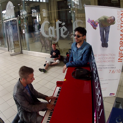 Piano gare de Tours